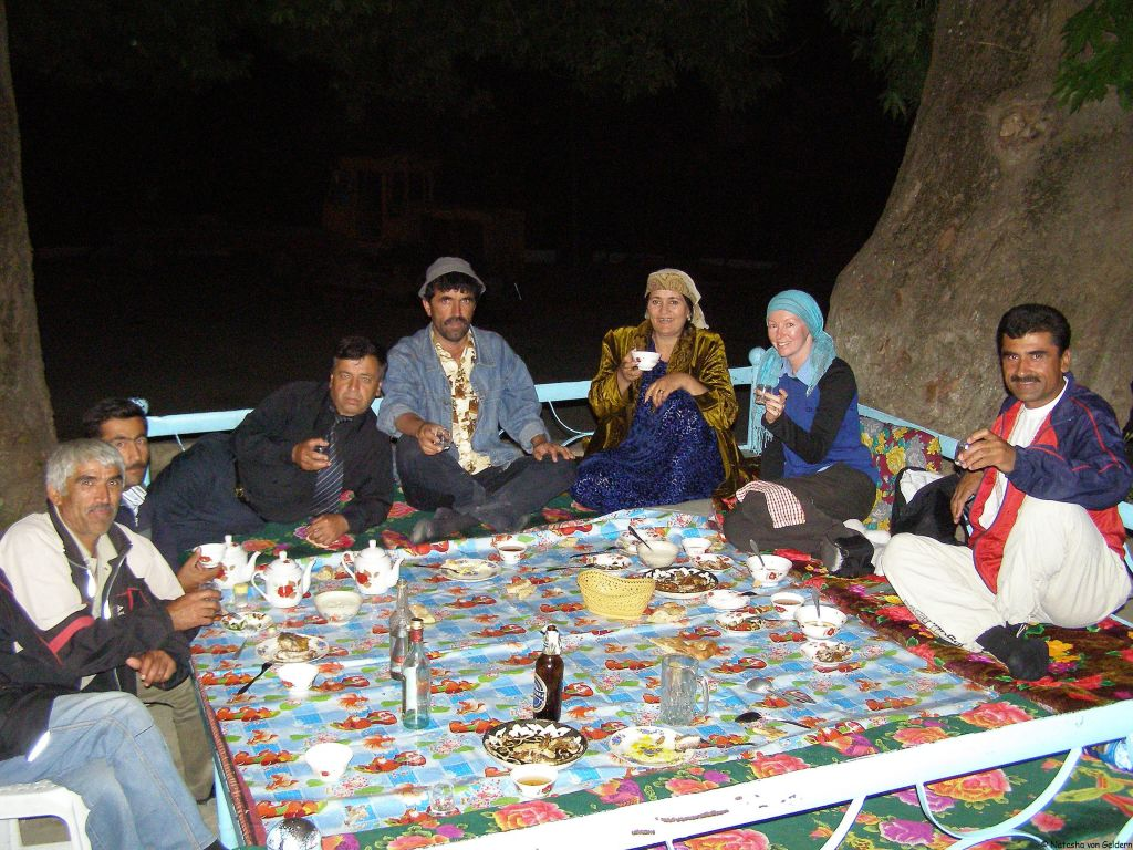 Drinking in Tijikistan