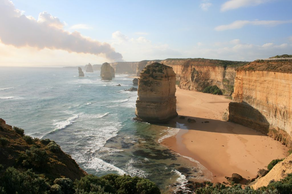 12 Apostles sunset, Great Ocean Road, Australia