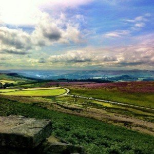 I was at Stanage Edge rock climbing in the weekendhellip