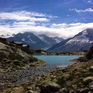 Lac Blanc and the glories of the Mt Blanc rangehellip