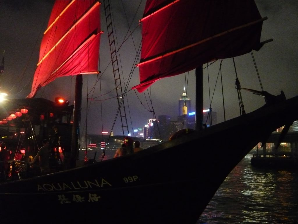 Victoria Harbour cruise, Hong Kong