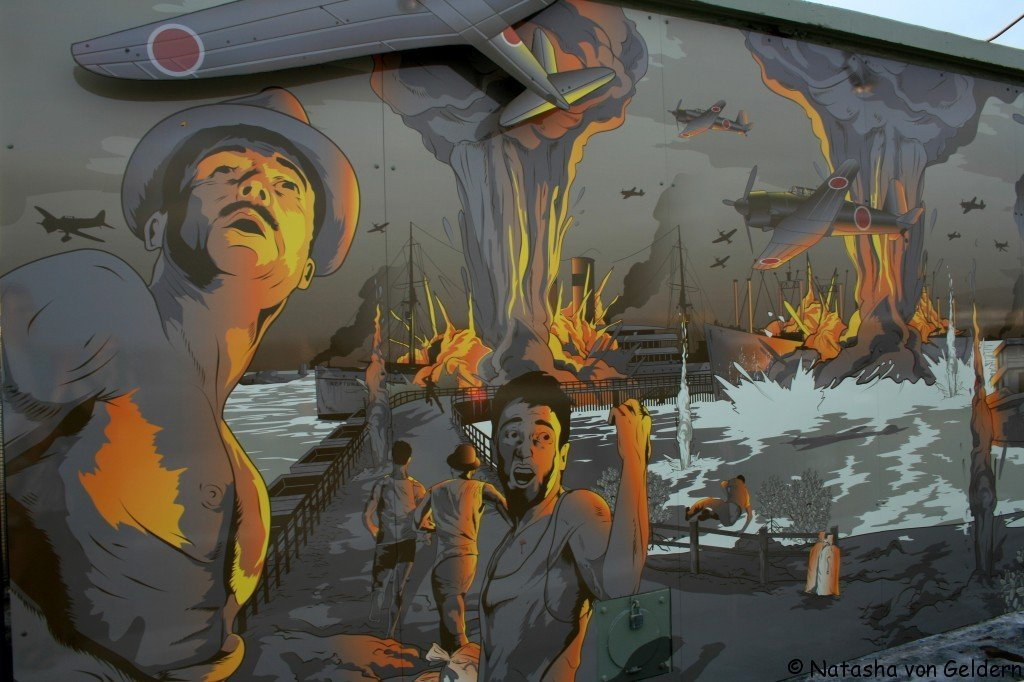 Darwin WWII bombing, Australia