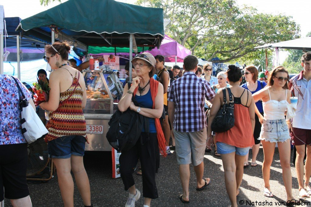 Darwin markets, Australia