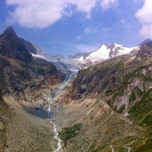Its glacier heaven on the Tour du Mont Blanc hellip