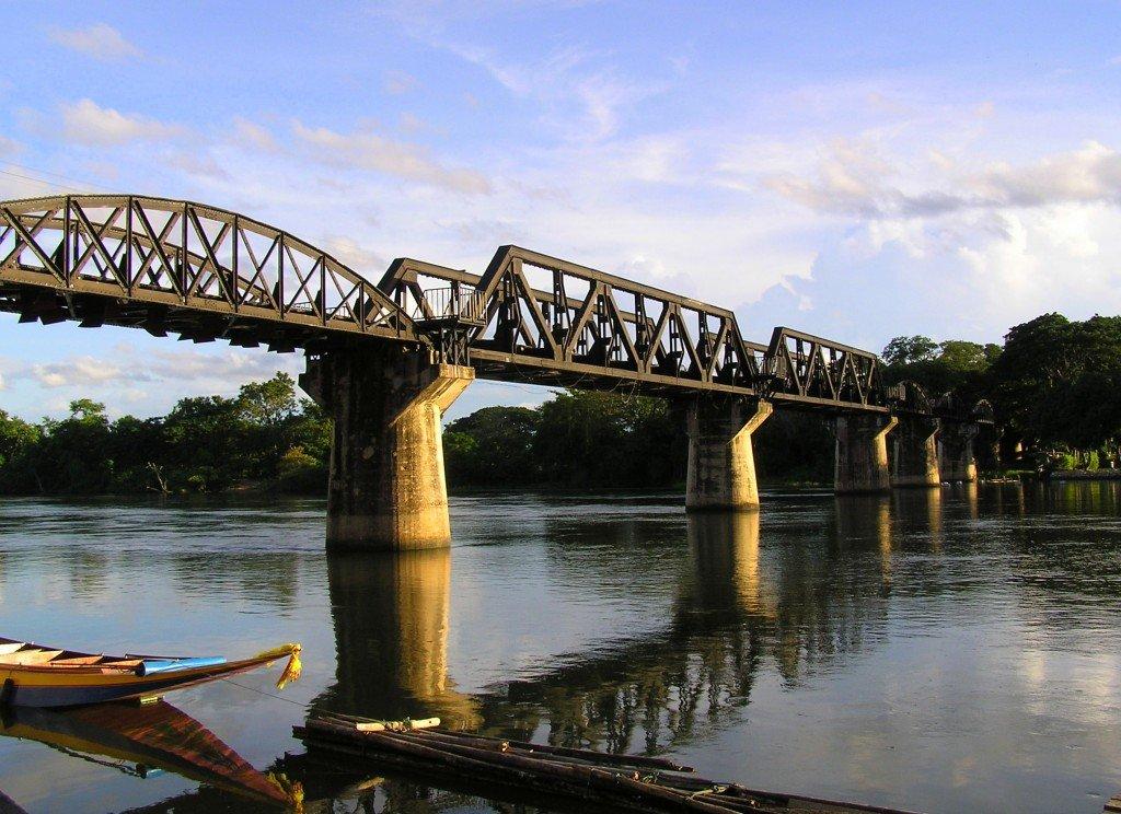Thailand: Kanchanaburi and the Bridge over the River Kwai