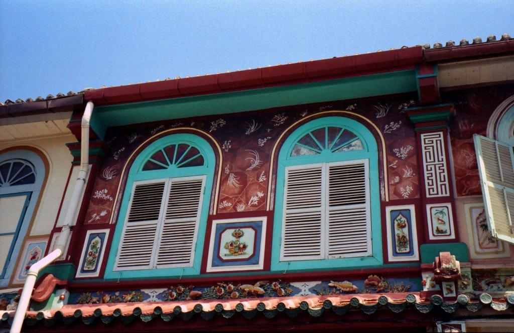 Melaka shophouse, Malaysia
