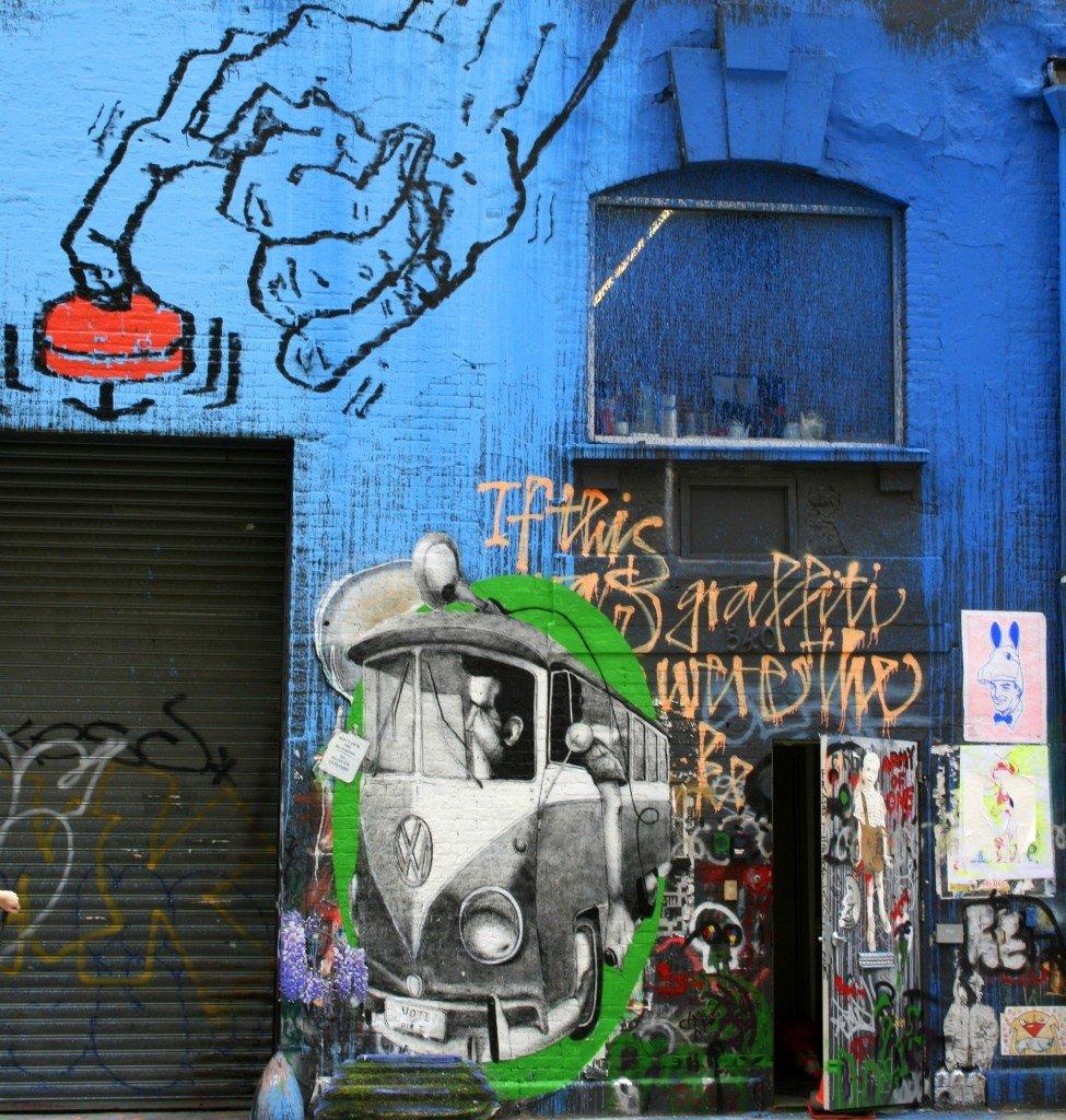 New York City street art