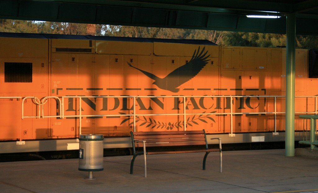 Indian Pacific rail journey, Australia
