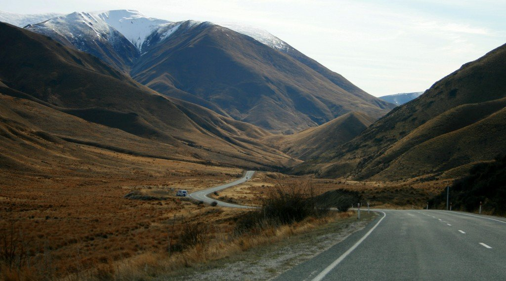 Lindis Pass, New Zealand