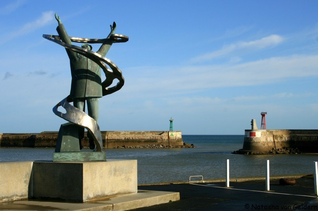 Port au Bessin war memorial, Normandy, France