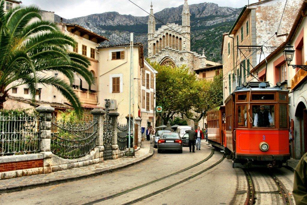 Mallorca The Tren De Soller To Palma