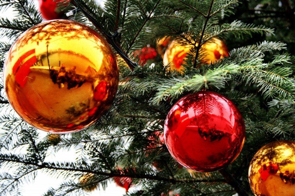Basel Christmas decorations, Switzerland