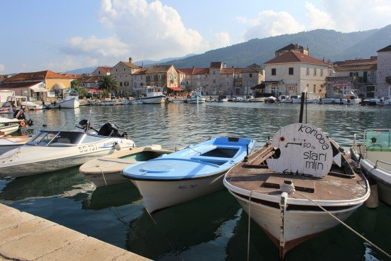Stari Grad waterfront and old town, Hvar