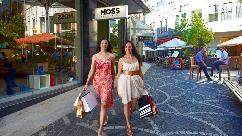 Shopping on a backpacker budget.
