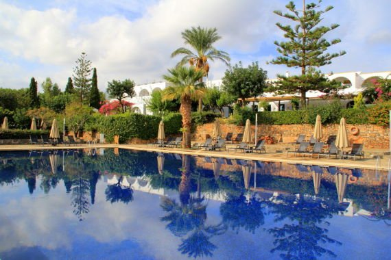 Pool at Minos Beach Hotel, Agios Nikolaos Crete