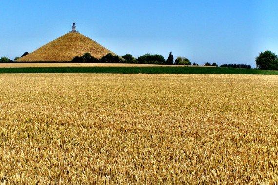 The Lion of Waterloo and battlefields, Belgium