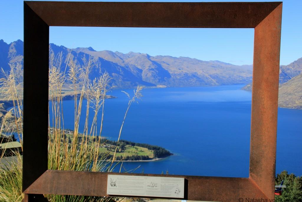 Skyline Queenstown view New Zealand Photo by Natasha von Geldern