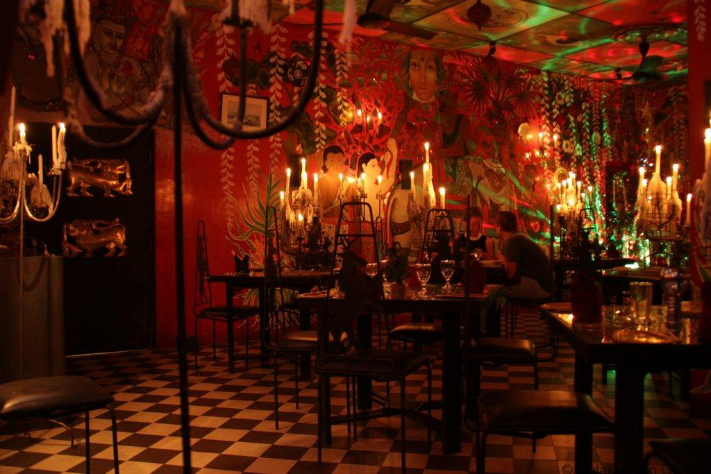 Helga's folly, the Red Room Kandy