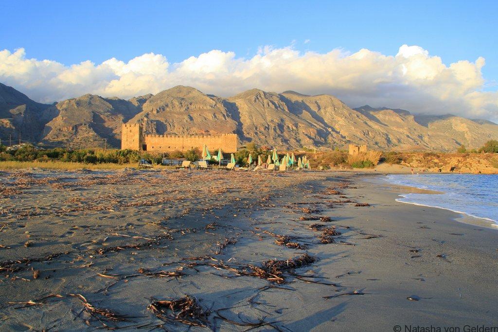 Frangokastello in Crete Photo by Natasha von Geldern