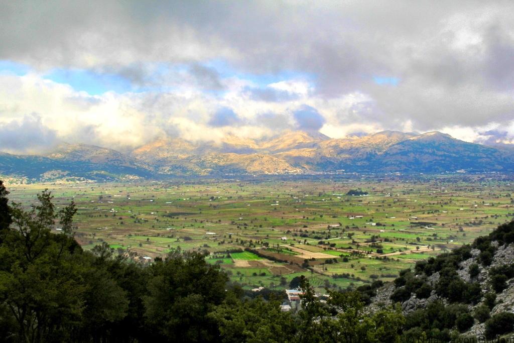 The Lasithi Plateau in Crete