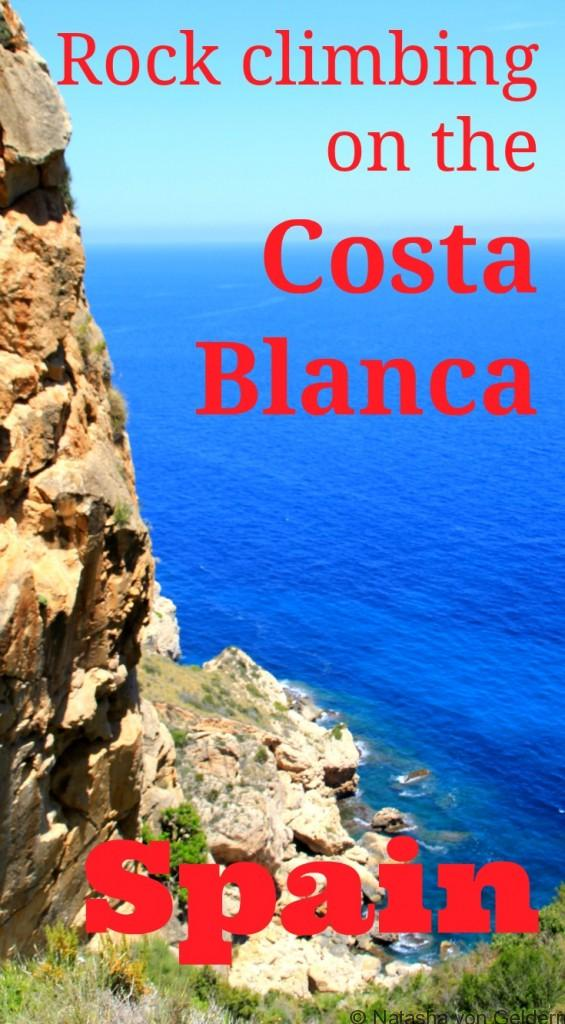 Rock Climbing on the Costa Blanca Spain