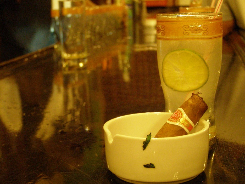 Cigars and mojitos in Havana, Cuba