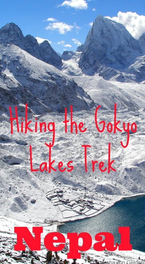 Hiking Gokyo Lakes Trek in Nepal