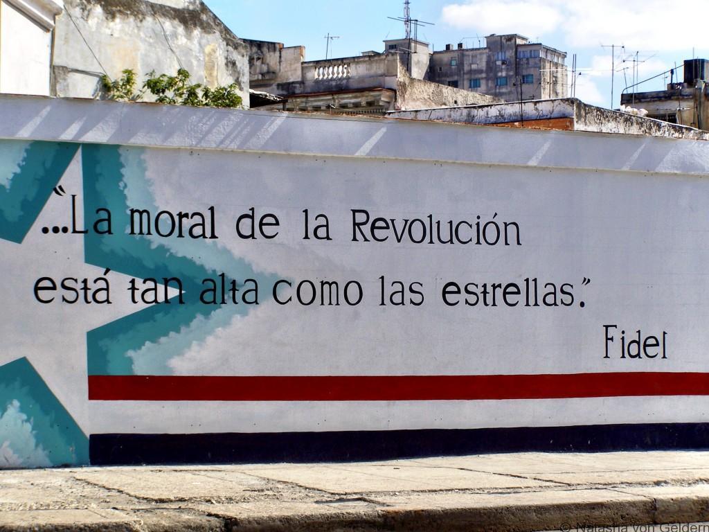 Revolution in Havana Cuba