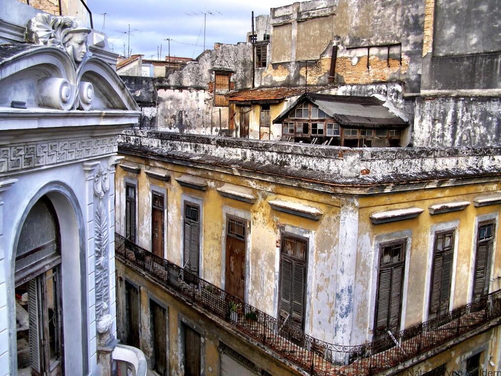 Rooftops of Havana, Cuba