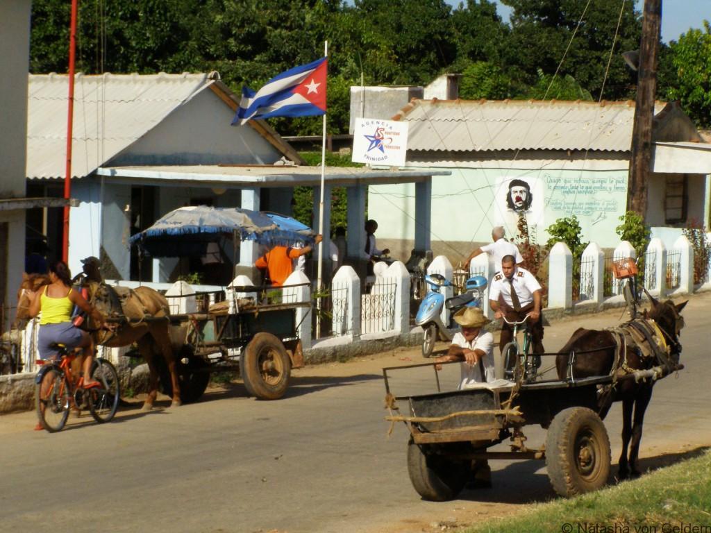 Trinidad streets, Cuba