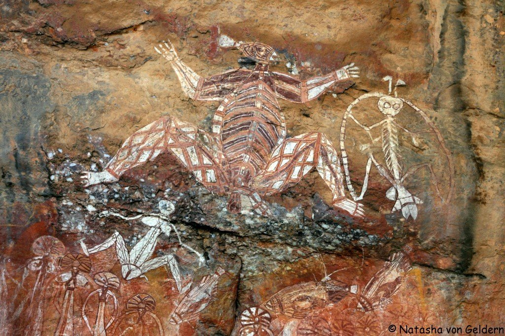 Aboriginal Rock art, Northern Territory, Top End, Australia