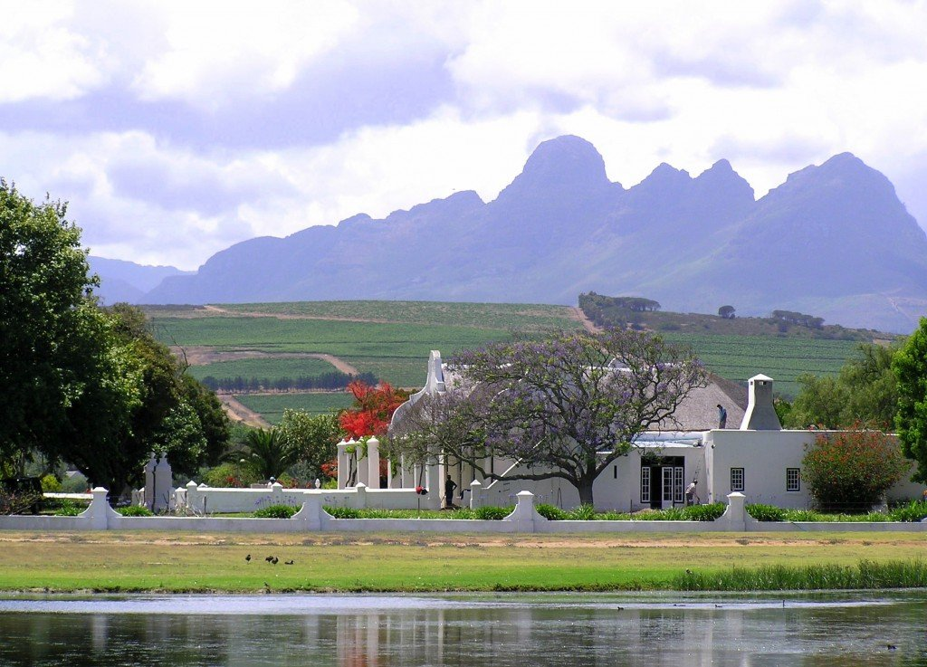 Stellenbosch wine region, South Africa