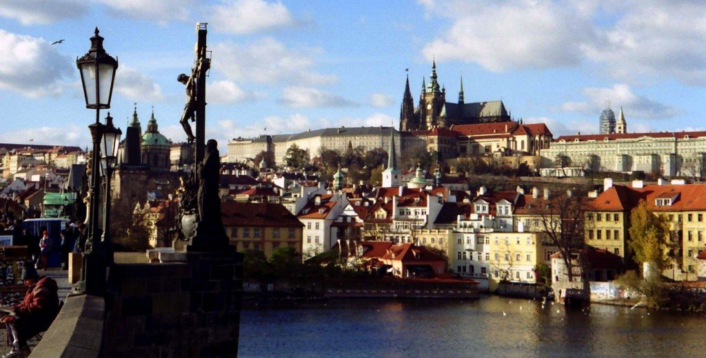 From the Charles Bridge, Prague, Czech Republic