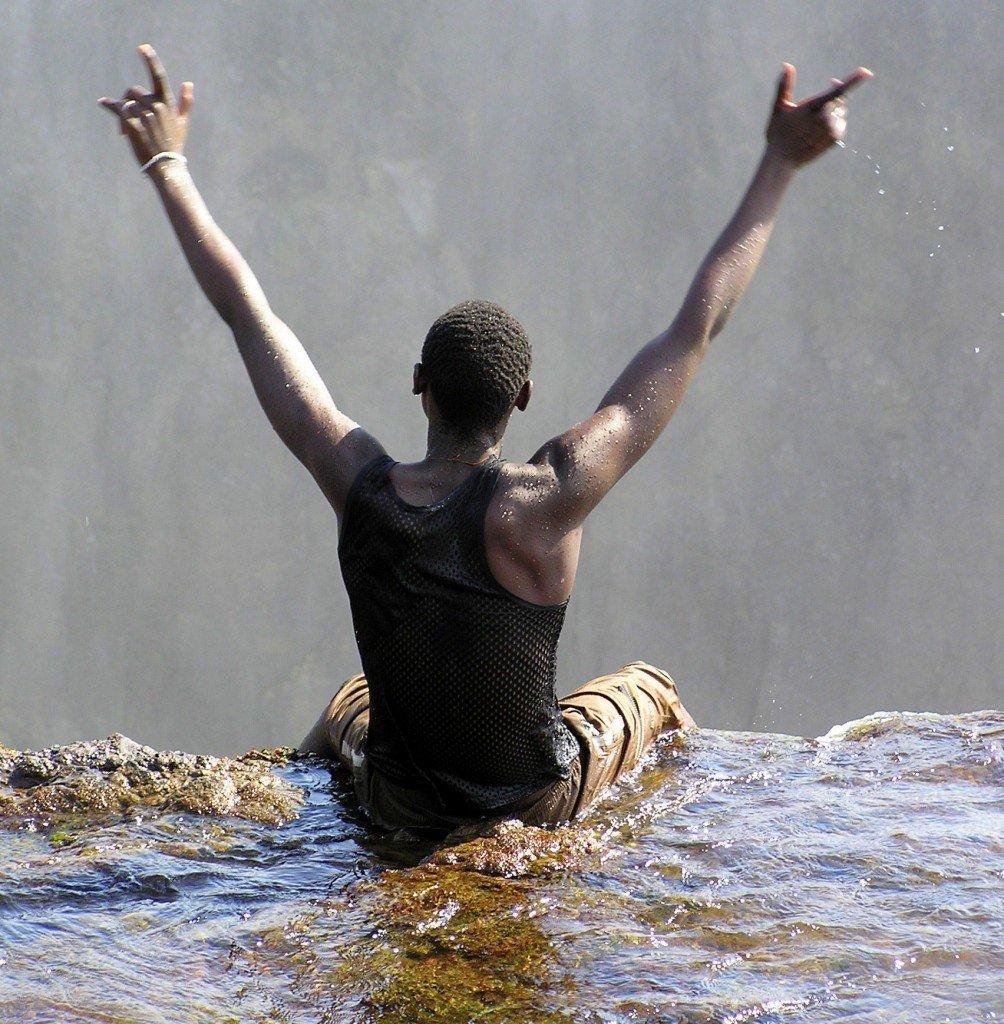 Devil's Armchair, Victoria Falls, Zambia