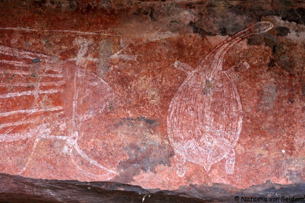Australia S Top End Aboriginal Rock Art In Kakadu National Park