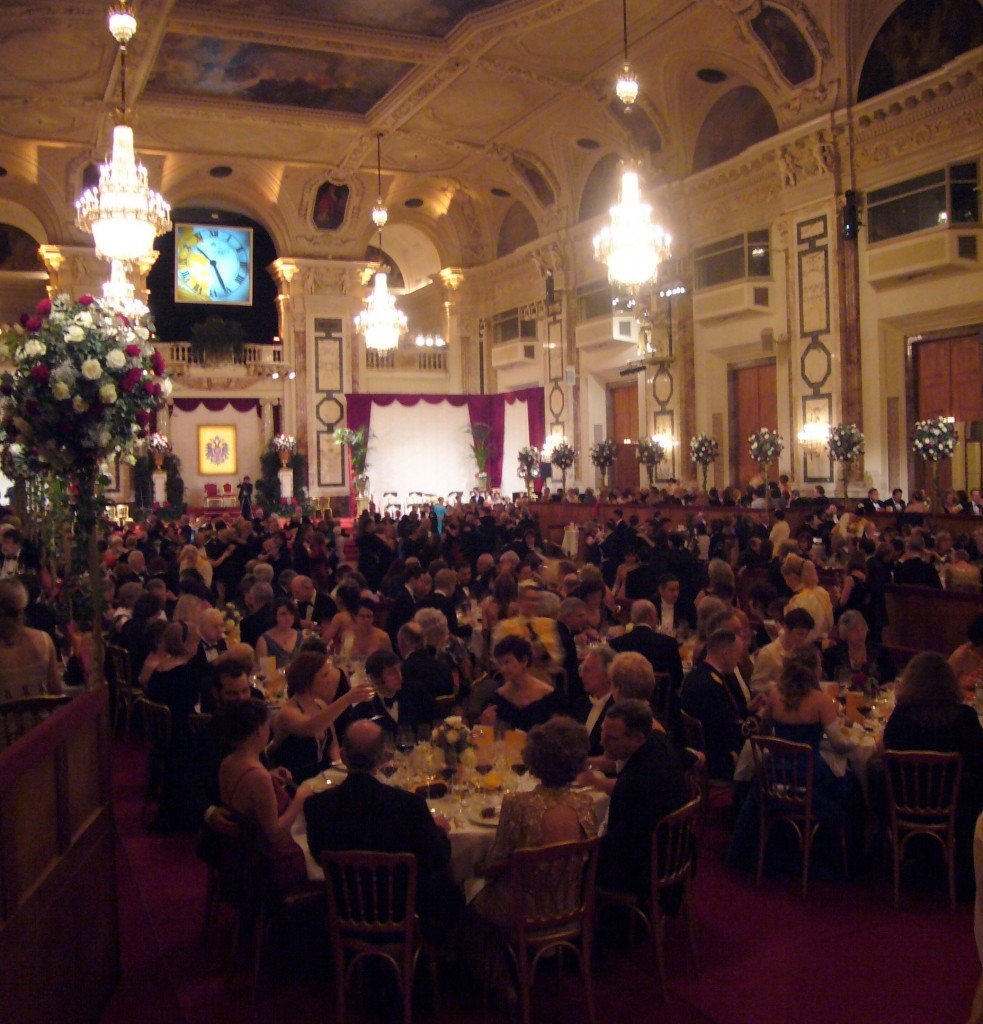 Ring in the New Year at a ball in Vienna, Austria
