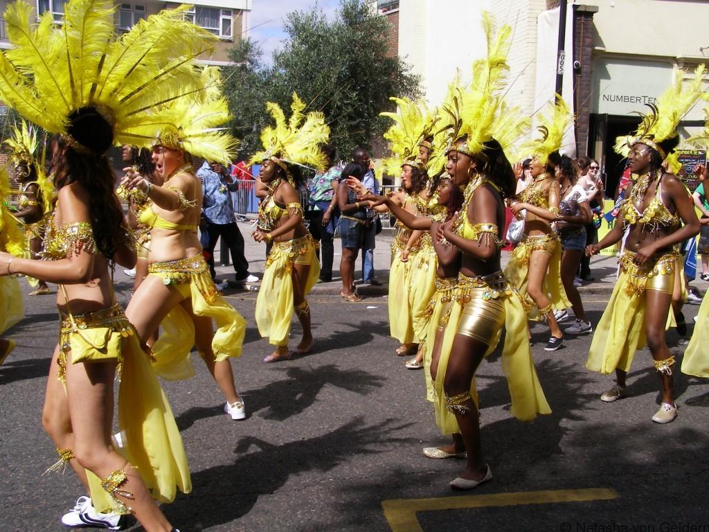 Dancers, Notting Hill Carnival, London