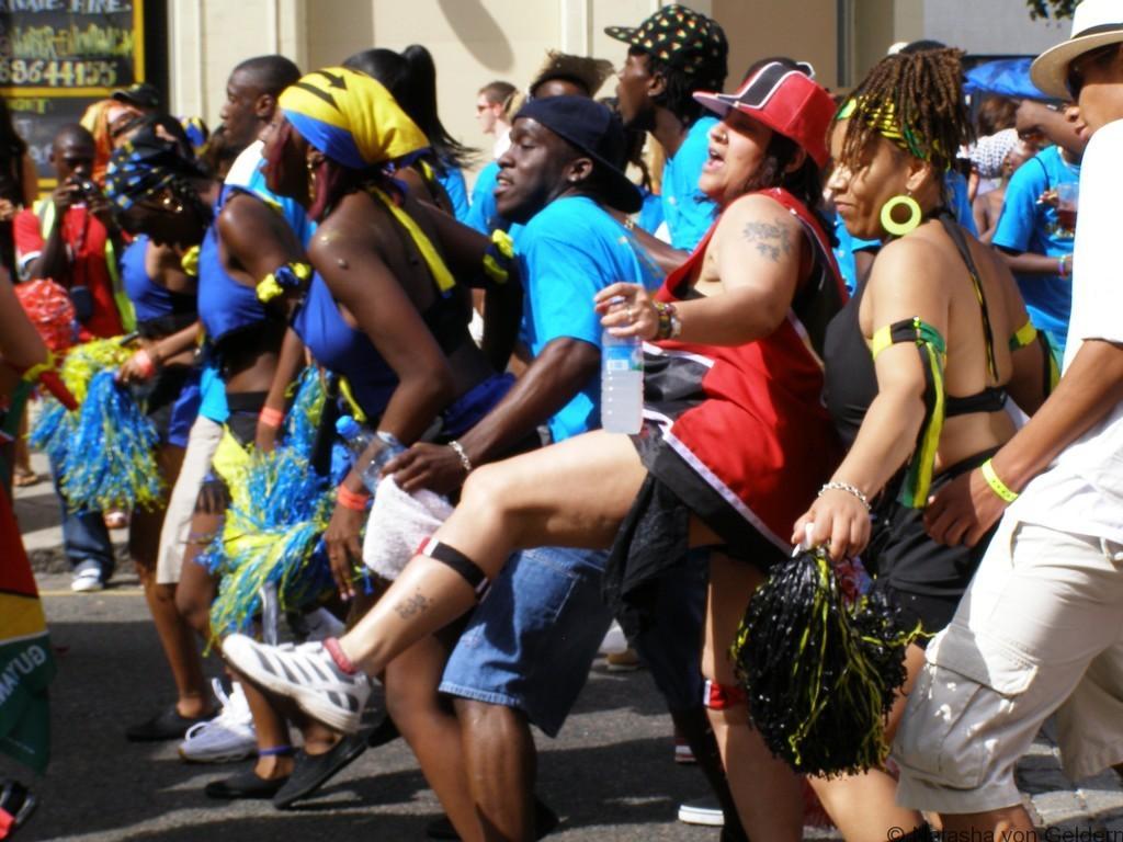 Fun at Notting Hill Carnival, London