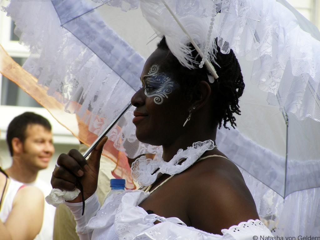 Gorgeous costumes at Notting Hill Carnival, London