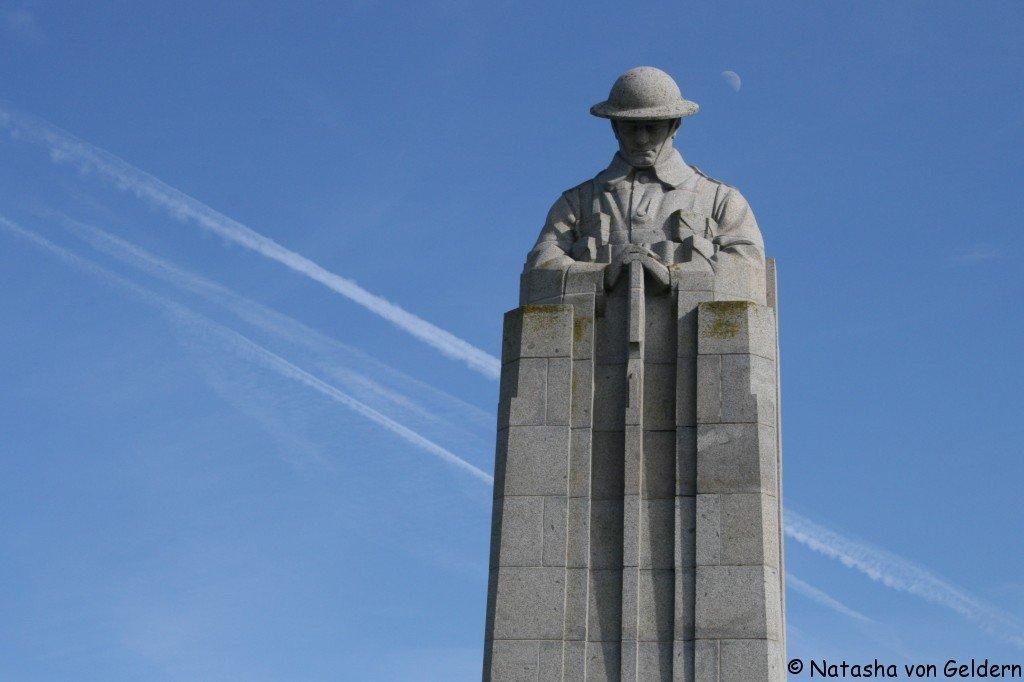 Vancouver Corner, Battlefields of the Western Front, Belgium