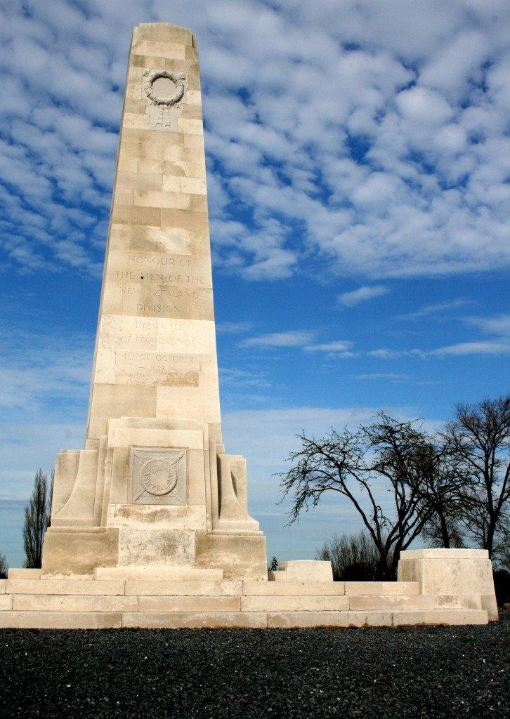 New Zealand memorial, Battlefields of the Western Front