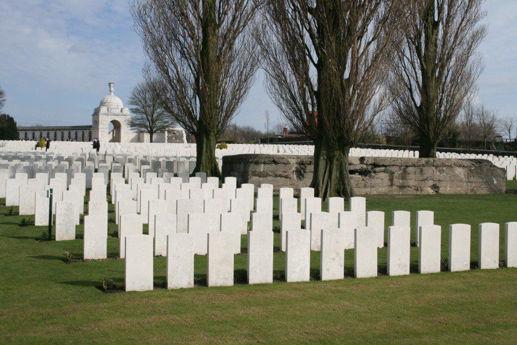 Tynecot Cemetery, Belgium