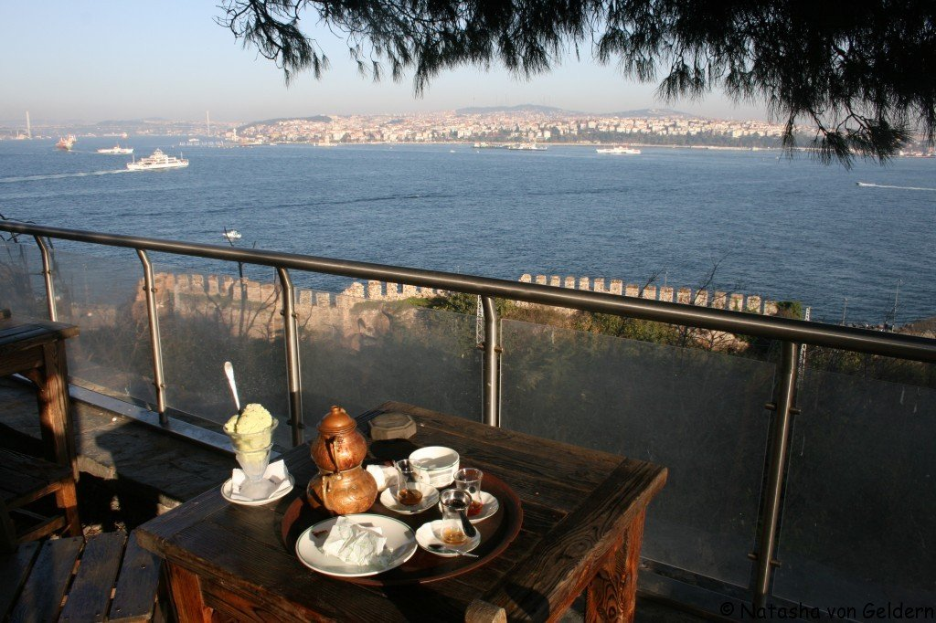 Turkey: Istanbul view of the Bosporus