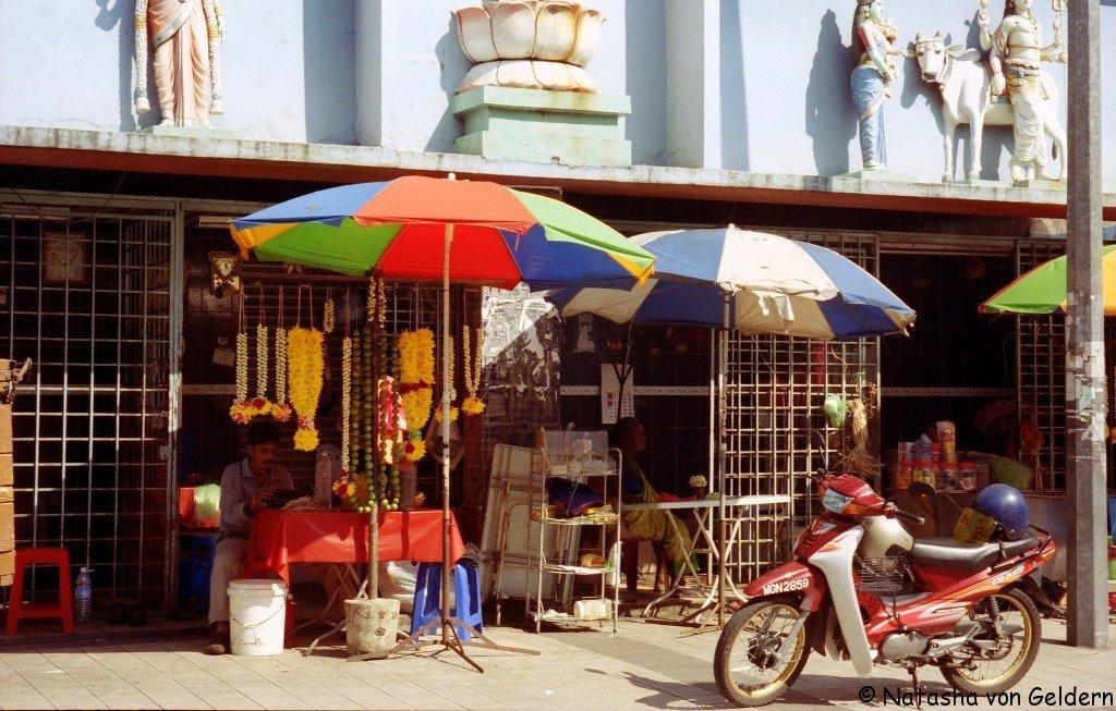 Chinatown street, Kuala Lumpur, Malaysia