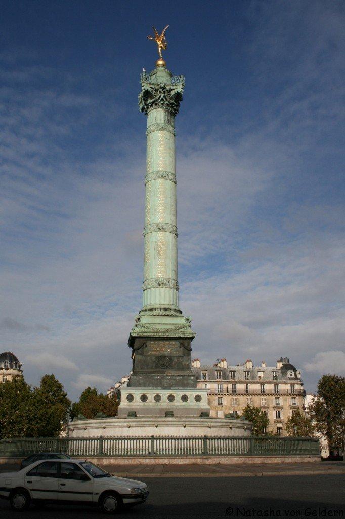 Colonne de Juillet, Place de Bastille, Paris