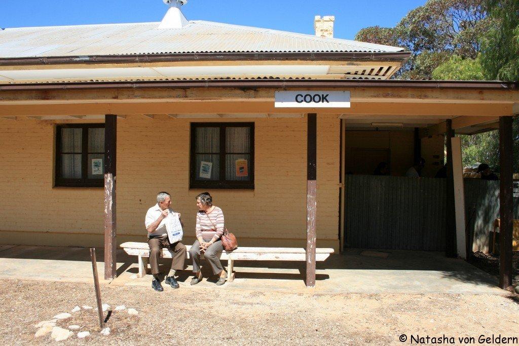 Cook - Indian Pacific rail journey, Australia
