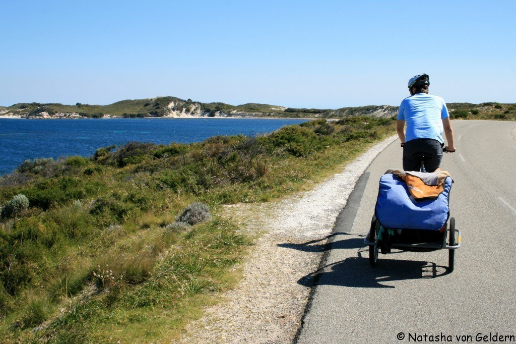 CYcling on ROttnest Island, Australia