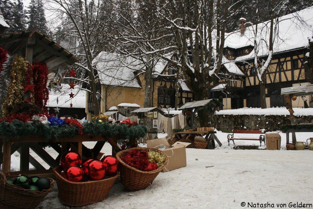 Sinaia village, Romania