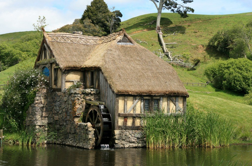 The Mill, Hobbiton film set, New Zealand