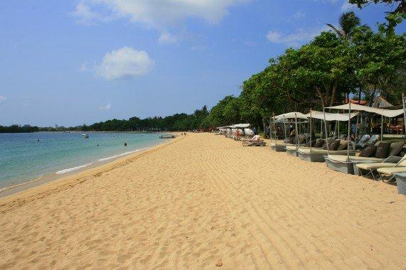 Nusa Dua beach, Bali
